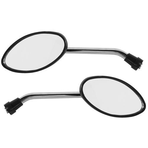 Par De Espelho Retrovisor Mini Speed Cromado Ee-118H Pro Tork