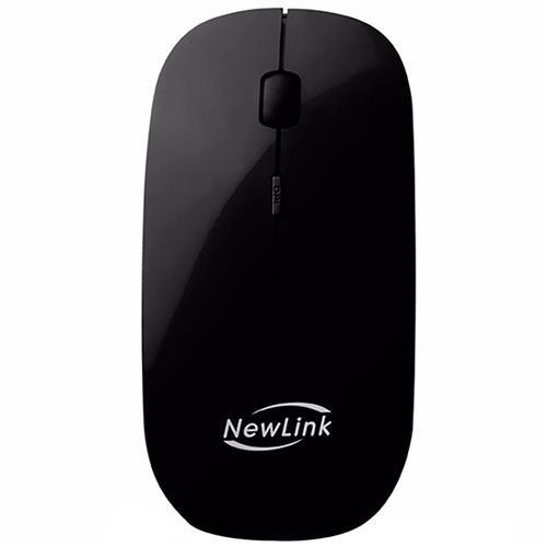 Mouse Sem Fio Nano USB 1600dpi Freedom Preto MO201 NewLink