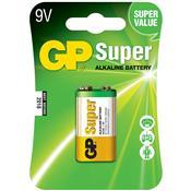 Bateria 9V Super Alcalina Mn 1604A 22785 Gp