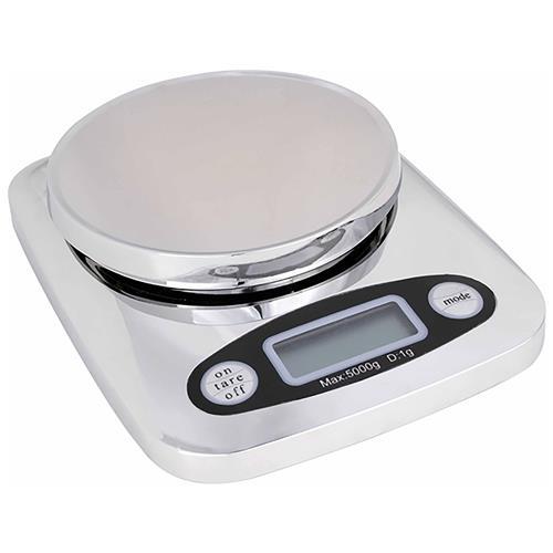 Balança Digital Para Cozinha 5Kg Prata Kc-01 Western