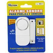 Alarme Para Portas E Janelas 90 Db A Wd-1 Western