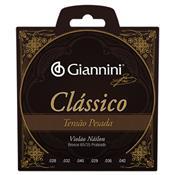 Encordoamento Genwpa Para Violão Nylon Pesada 28075 Giannini