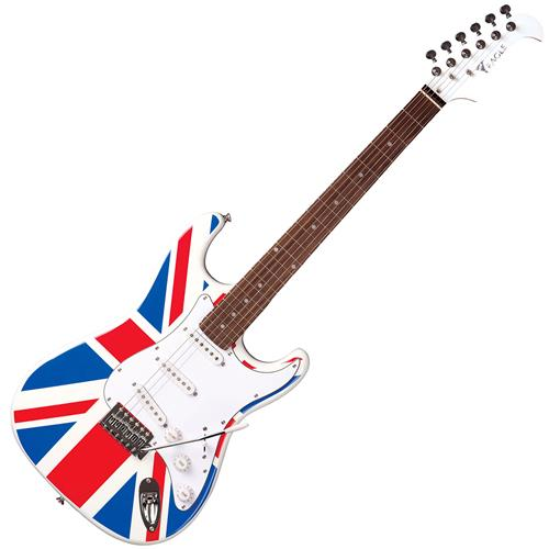 Guitarra Strato STS Series Britânica Maple STS001 UK Eagle