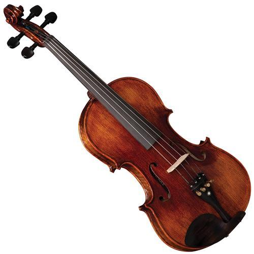 Violino Clássico 4/4 Profissional Fundo Peça Única Vk544 Eagle