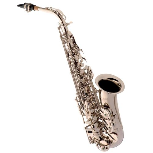Saxofone Alto Em Mib Niquelado Master Series Sa500 N Eagle