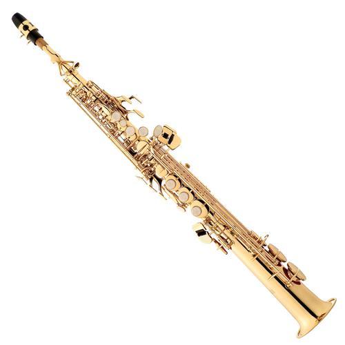 Saxofone Soprano Em Sib Laqueado Com Estojo SP502 Eagle