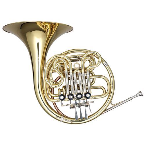 Trompa 12Mm Em Fá/Sib Laqueado Com Estojo Tpa680 Eagle