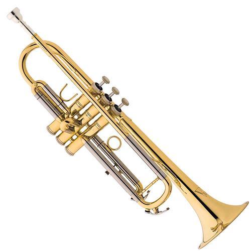 Trompete Em Sib Laqueado Com Estojo Tr504 Eagle
