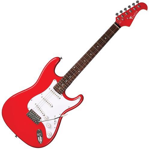 Guitarra Elétrica Strato Basswood Vermelha STS001 RD Eagle