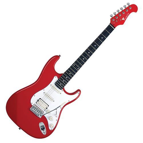 Guitarra Strato Captador Humbucking Vermelha STS002 Eagle