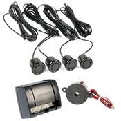 Sensor De Estacionamento 4 Sensores Ps210 Positron Preto