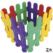 Cercadinho Infantil Colorido Com 8 Módulos 0984.3 Xalingo