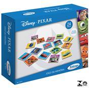 Jogo Da Memória Pixar Disney 24 Peças Em Madeira 1837.6 Xalingo