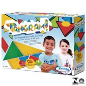 Jogo Infantil Educativo Tangran 28 Peças 0442.1 Xalingo