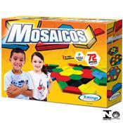 Jogo Infantil Educativo Mosaicos 72 Peças 5144.3 Xalingo