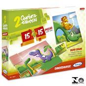 Jogo Infantil Quebra-Cabeças Dinossauro 30 Peças 5098.7 Xalingo