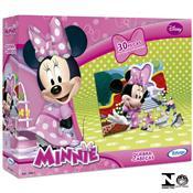 Quebra Cabeça Minnie Disney 30 Peças Em Madeira 1864.3 Xalingo