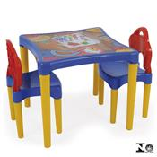 Mesinha Oficina De Criações Com 2 Cadeiras 0495.5 Xalingo