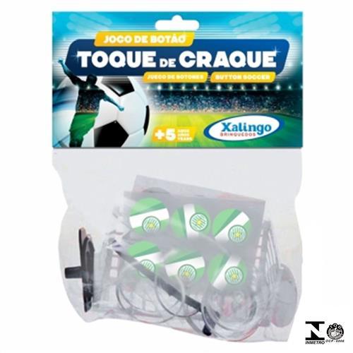 Jogo De Botão Infantil Toque De Craque Verde 0731.0 Xalingo