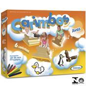 Jogo Com 6 Carimbos Pedagógicos Aves 5087.6 Xalingo