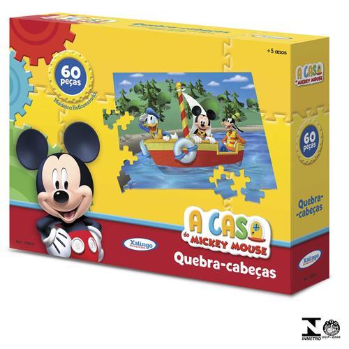 Quebra Cabeça Mickey Club House Disney 60 Peças 1899.8 Xalingo