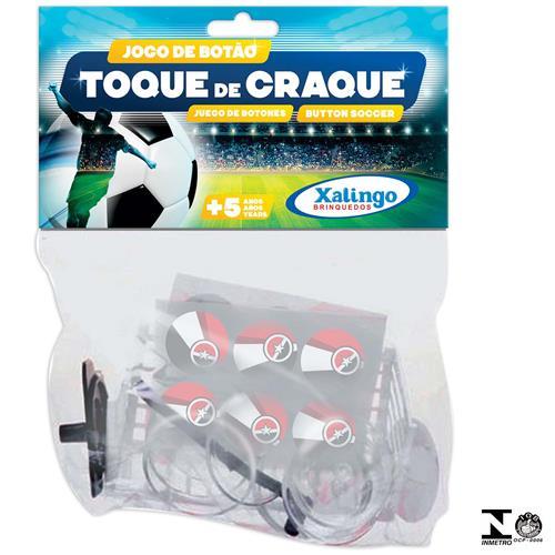 Conjunto Futebol De Botão Branco 0731.5 Xalingo