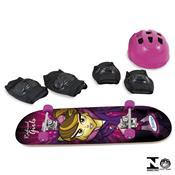 Conjunto Skate Radical Girls Com Acessórios 0640.5 Xalingo