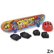 Conjunto Skate Force Com Acessórios 0640.9 Xalingo