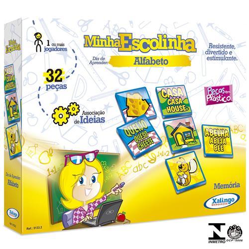 Jogo Da Memória Alfabeto 32 Peças 5133.2 Xalingo