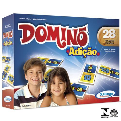 Jogo De Dominó Adição 28 Peças 5257.6 Xalingo