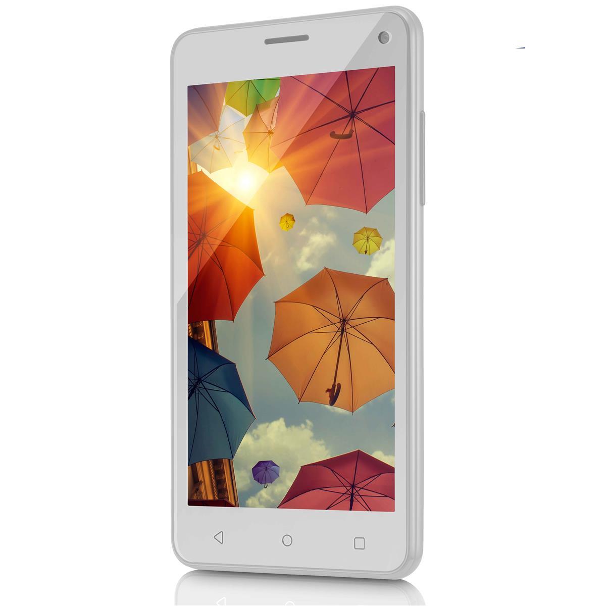 Smartphone Quadcore 16Gb Ms50 Branco Colors P9002 Multilaser