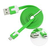 Cabo Usb Micro Usb Plug And Play Verde 0438 Bright