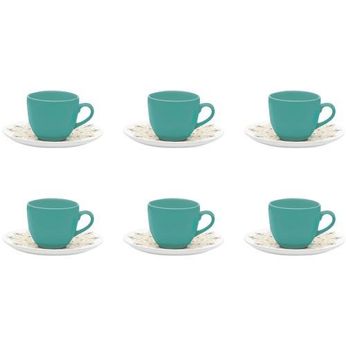 Conjunto De Xícaras Café 6 Peças Lindy Hop Coup Em23-4639 Oxford