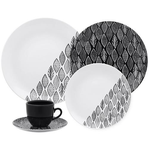 Aparelho De Jantar Chá 20 Peças Castanhal Coup Em20-4645 Oxford