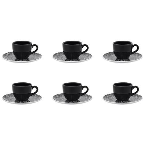 Conjunto Com 6 Xícaras Para Café Coup Castanhal Em23-4645 Oxford