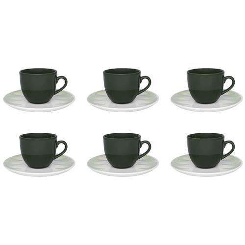 Conjunto Com 6 Xícaras Para Chá Coup Fresh Em21-4659 Oxford