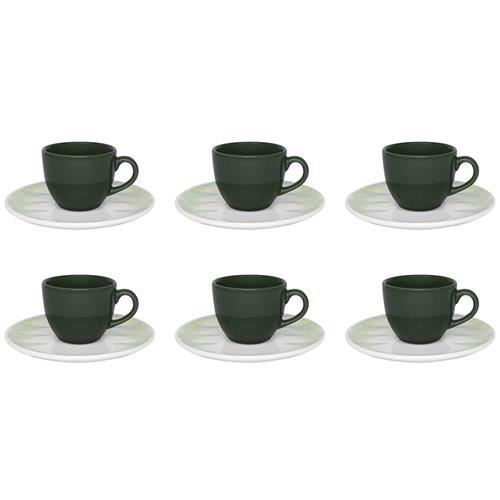 Conjunto Com 6 Xícaras Para Café Coup Fresh Em23-4659 Oxford