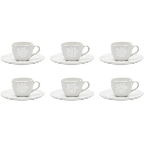 Conjunto Com 6 Xícaras Para Café Coup Blanc Em23-4787 Oxford