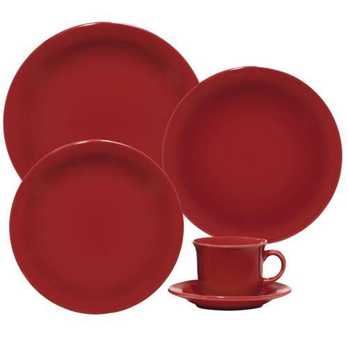 Aparelho De Jantar E Chá Daily Floreal 30 Peças J591-6017 Oxford