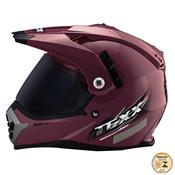 Capacete Cross Mx Double Vision Para Motociclista Texx