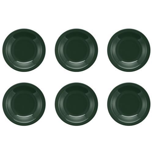 Conjunto Com 6 Pratos Fundos 23cm Floreal Forest JM14-6029 Oxford