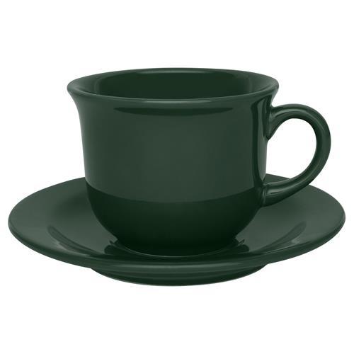 6 Xícaras Com Pires Para Chá Daily Floreal Forest 6029 Oxford
