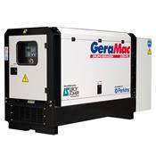 Gerador De Energia Trifásico À Diesel 24 Kva Lg24p Geramac