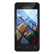 Smartphone Quad Core 4 Pol 8Gb Android 6 2 Chip Branco Ms40s Multilaser