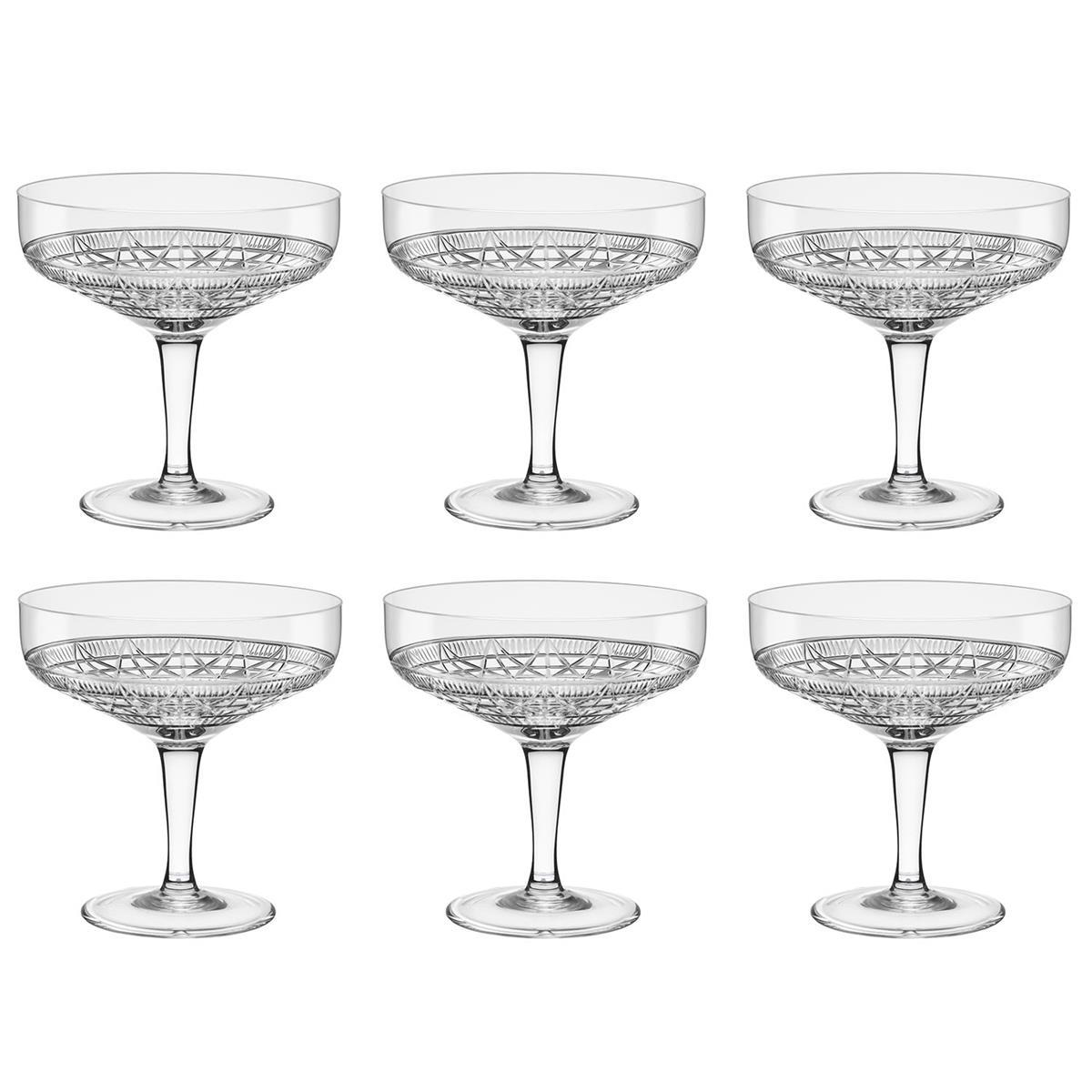 Conjunto 6 Taças Vintage 250Ml Linha 900 Yma9 - 9001 Oxford