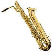Saxofone Barítono Eb Laqueado Hbs - 110L Harmonics