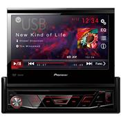 Auto Rádio Cd Dvd Usb Am Fm Preto Avh-3880Dvd Pioneer