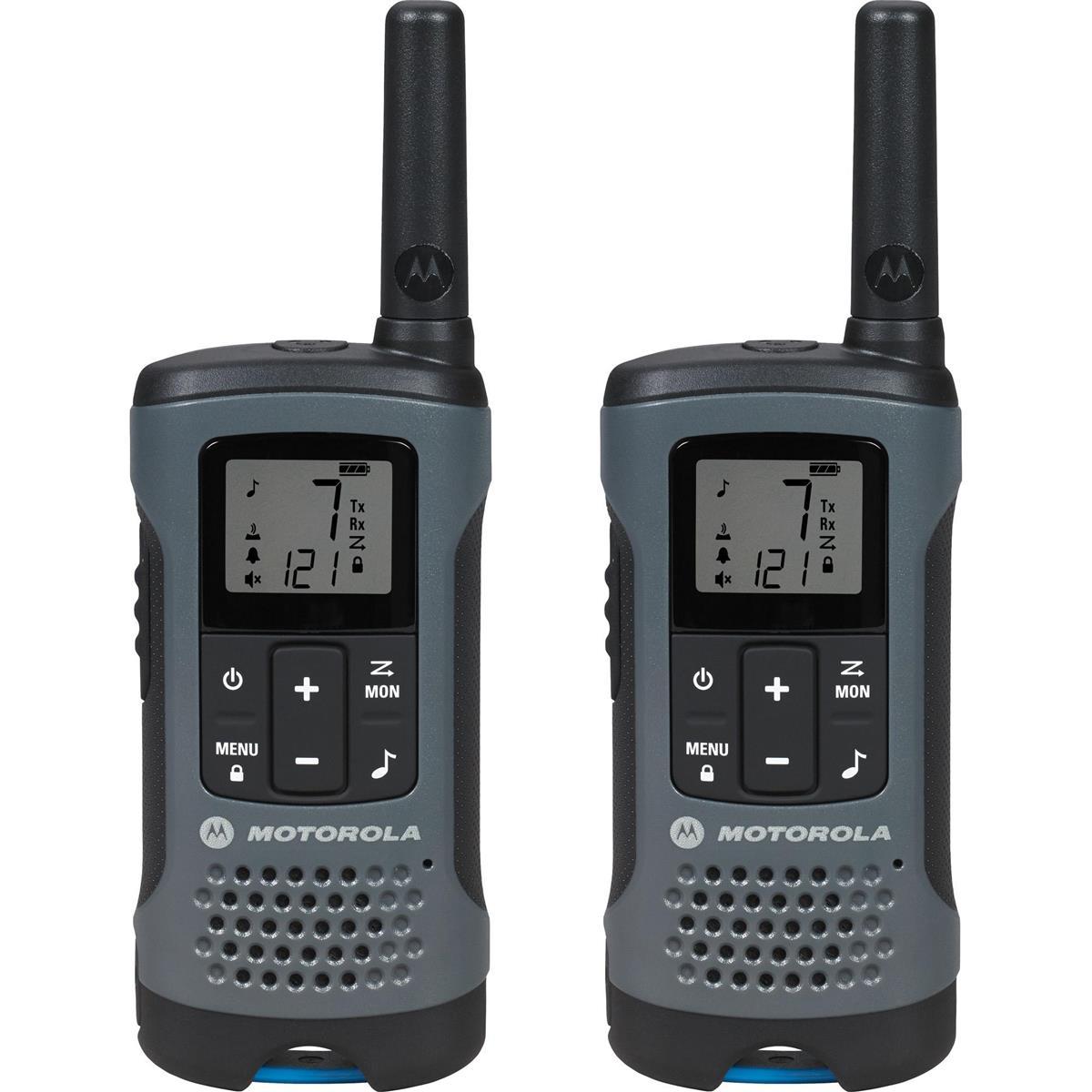 Rádio Comunicador Talkabout 32Km Cinza T200br Motorola
