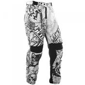 Calça De Motocross Jett Tattooed Branco Pro Tork