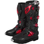 Bota Para Motocross Pro Racing Preto E Vermelho Pro Tork